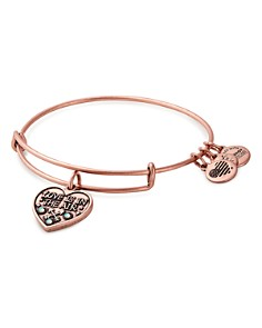 Alex and Ani - Love Is in the Air Expandable Bracelet
